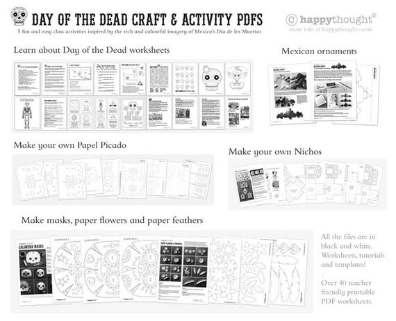 6 Day Of The Dead Craft Activities Learn About El Dia De