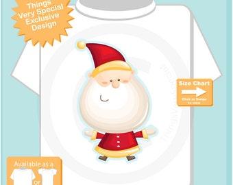 Toddler gift - Christmas Santa Claus Shirt, Family Photo Christmas Shirt, Christmas T-Shirt or Onesie 10202015g