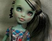 OOAK Custom Monster High Frankie Stein Repaint