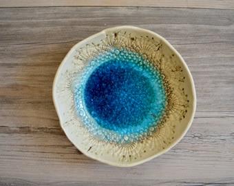Ceramic bowl dessert plates Berry bowl - Bowls - tapa plates  - dishes  Wedding Gift  - stoneware - dishware ONE plate