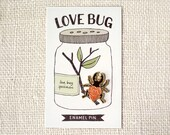 Enamel Pin - Love Bug