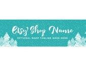 Christmas Etsy Cover Photo - Christmas Etsy Shop Covers - Christmas Etsy Banner - Christmas Shop Cover - Christmas Wonderland