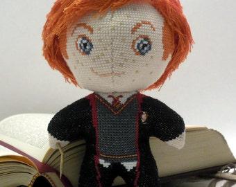 Ron Weasley Doll 3D Cross Stitch Sewing Pattern PDF