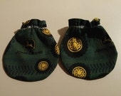John Deere Tires and Tracks Comics Baby Mitts