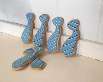 Father's day necktie Cookies