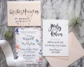 Invitation Sample Pack | Option 1