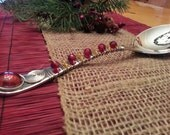HOLIDAY Spoon Server... DINNER with a TWIST for birthday, wedding, anniversary, teacher, office, holidays