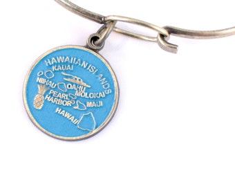 Hawaii Love Charm Bracelet or Necklace