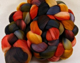 Harvest Moon merino wool top for spinning and felting (4.2 ounces)