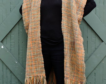 Handwoven Deconstructed Poncho