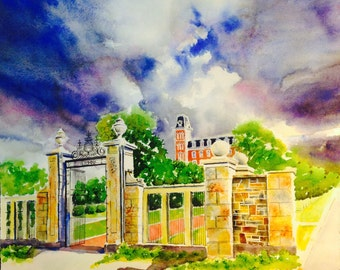 Pi Phi Gate - University of Arkansas