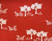 Henry Glass & Co.Fabric, CRUZIN' Collection, Silhouettes on Red- yards
