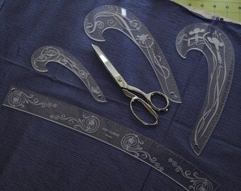 Acrylic Sewing Curves - French and Hip