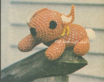 Muffy the bunny crochet pattern. Instant PDF download!