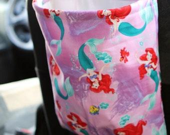 The Little Mermaid Car Trash Bag or Storage