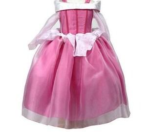 New Aurora Inspired Costume Birthday girl toddler princess dress size 2 4 6 8