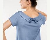Collar dress | Club dress | Ice blue dress | LeMuse collar dress