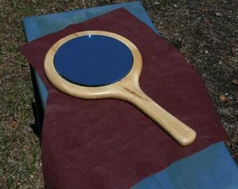 Myrtle Wood Hand Mirror