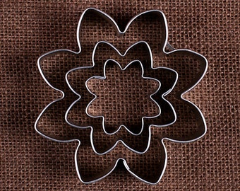 Daisy Flower Cookie Cutter Set, Daisy Cookie Cutter, Metal Cookie Cutters, Sugar Cookie Cutters, Spring Pastry Cutter, Easter Biscuit Cutter