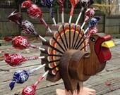 Small Turkey Lollipop Holder