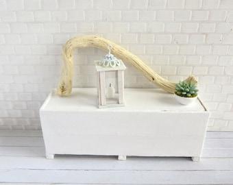 Wooden lantern beach style in 1:12 scale