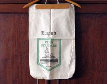 Farm Sack Oatmeal Flax Seed Bag Baron's Penn Standard