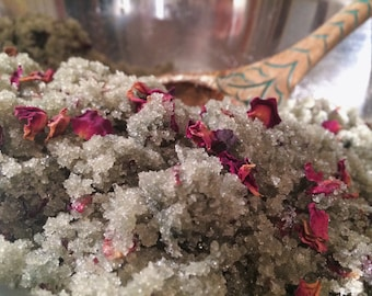 Goddess of the Sea Sugar Scrub // Small // Organic