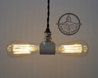 Edison Filament Bulb Duo INDUSTRIAL LIGHT
