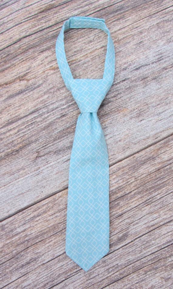 Ties, Little Guy Boys Necktie, Bowtie - Baby boy, Infant, Toddler, Youth, Man, Daddy- Baby Shower Gift- Blue, Aqua, White Diamond