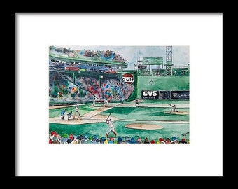 FENWAY PARK, Original Prints, Boston Redsox, PAINTING redsox art, Original Limited Edition Prints, Boston