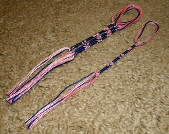 8 Inch Yoseph Variegated Perle Cotton Traditional Tie Tzitzit