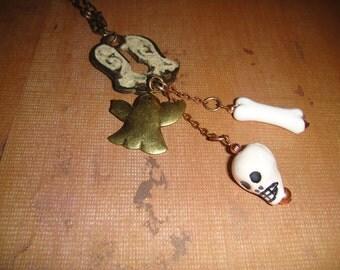 Bones    A Halloween Necklace