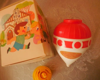 Vintage AVON Bubble Bath Spinning Top