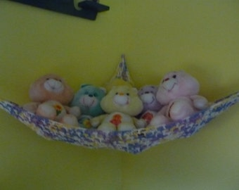 Hammock for Stuffed Animals, Purple Ombre