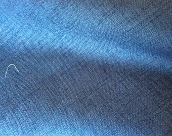 NAVY BLUE Woven Polyester Backed Upholstery Fabric, 16-11-04-1214