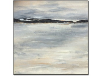 Original Seascape Gallery canvas art Home interior Design Painting by Henry Parsinia 30x30