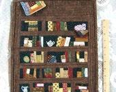 Miniature Quilt Room Book Shelf