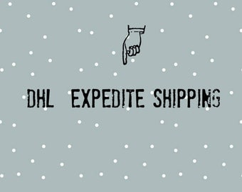 DHL Expedite Shipping, Upgrade your shipping