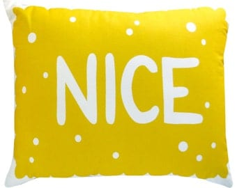 Supersize Nice Biscuit Printed Cushion / Biscuit Cushion - Cookie Pillow