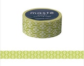 Mark's Japanese Washi Masking Tape - Japan Series / Traditional Japanese Patttern 15mm wide for packaging, party deco, crafting