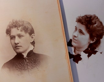 Victorian Cabinet Photos, Victorian Ladies