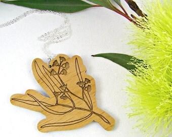 Australian Flora Eucalyptus Necklace