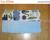 Spring sale sale sale Crayon Roll 2D zoo Blue More Crayon Rolls in My Shop