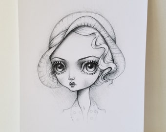 Bette 8x10 Art Print