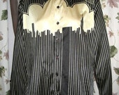 70s Mens Shirt by Chess King - Vintage - Reserved for guitarfetish