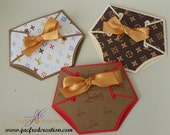 Baby diaper Invitations ..Louis V Inspired (10)