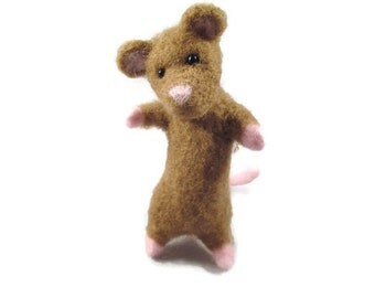 Needle Felted Mice, Needle Felted Animal, Felted Mice, Felted Wool Mouse, Collectible Mouse, Felt Animals, Felted Animals, Needle Felt Mice