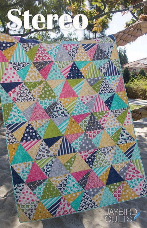 Stereo Quilt Pattern Jaybird Quilts Super Sidekick By