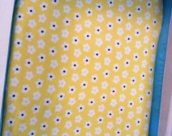 Pack n play Soft fleece sheet play yard sheet bright yellow