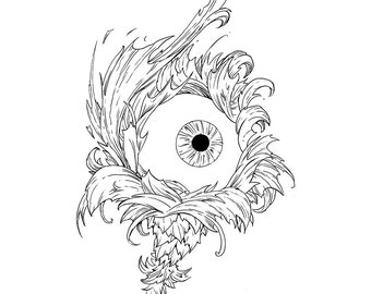 Flora Oculiris Original Art